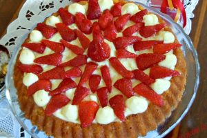 Torta chantilly alle fragole