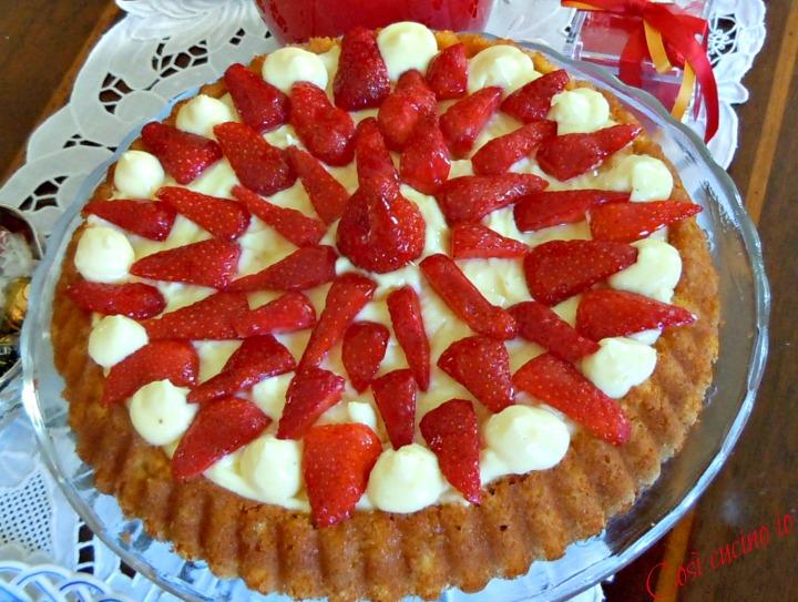 Torta chantilly alle fragole - Così cucino io