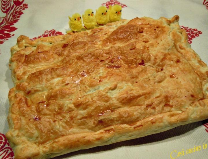 Torta pasqualina con uova di quaglia - Così cucino io