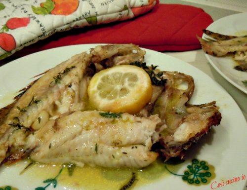 Scorfani al limone ed erbe aromatiche