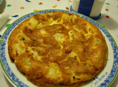 Frittata di pancetta e patate