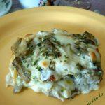 Lasagne ai funghi porcini e scamorza affumicata