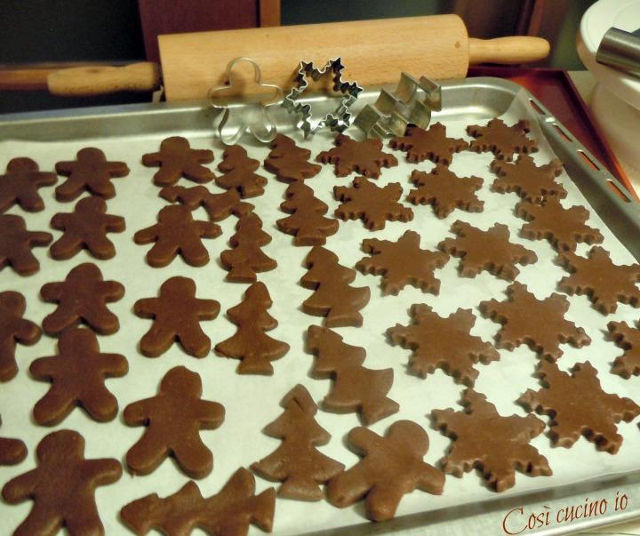 Frollini di natale al cioccolato - Così cucino io