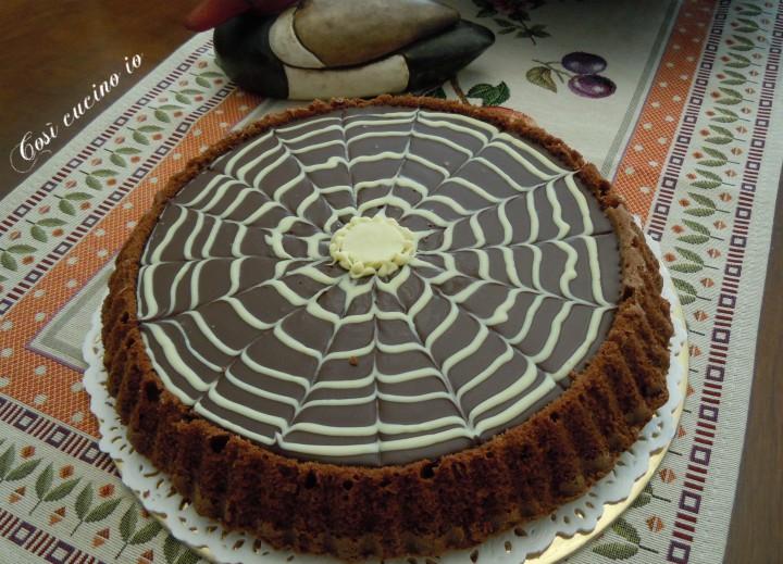 Torta ragnatela al cioccolato - Così cucino io