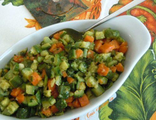 Carote e zucchine trifolate