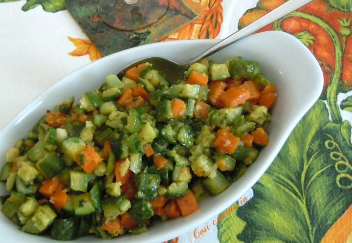 Carote e zucchine trifolate- Così cucino io