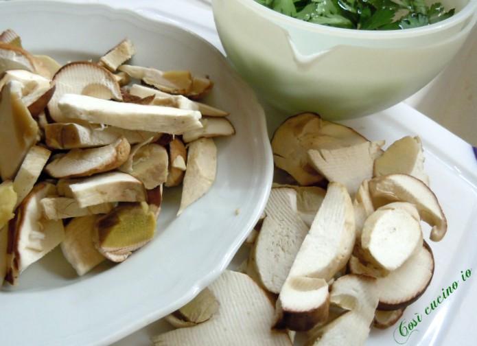 funghi champignon - Così cucino io