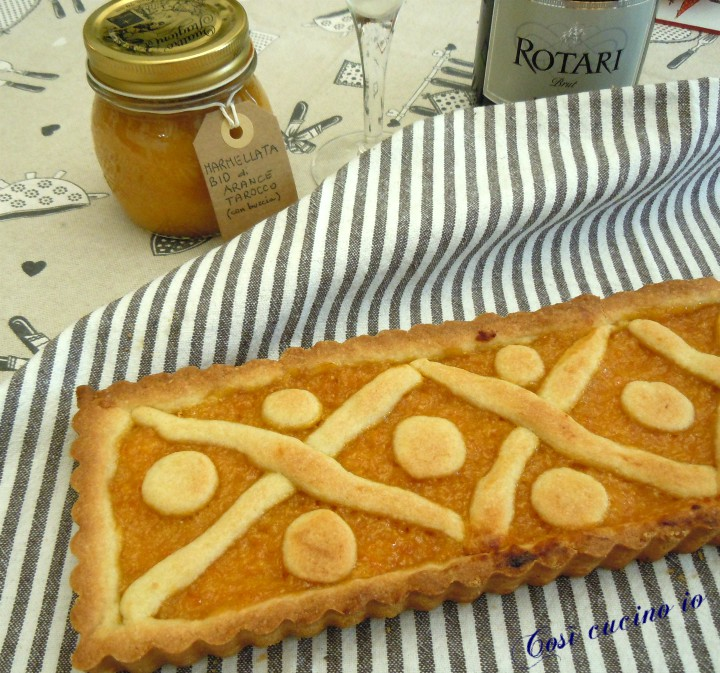 Crostata di marmellata di arance - Così cucino io