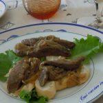 Crostini di fegato alla veneziana