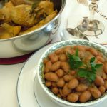 Fagioli in salsa di acciuga
