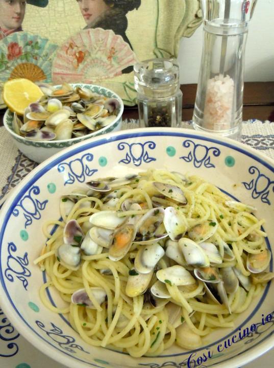 Spaghetti con le telline - Così cucino io