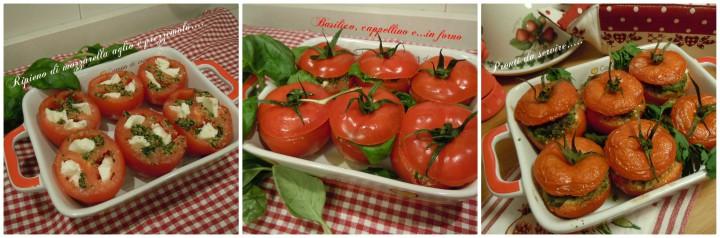 Pomodori col capello ripieni al forno - Così cucino io
