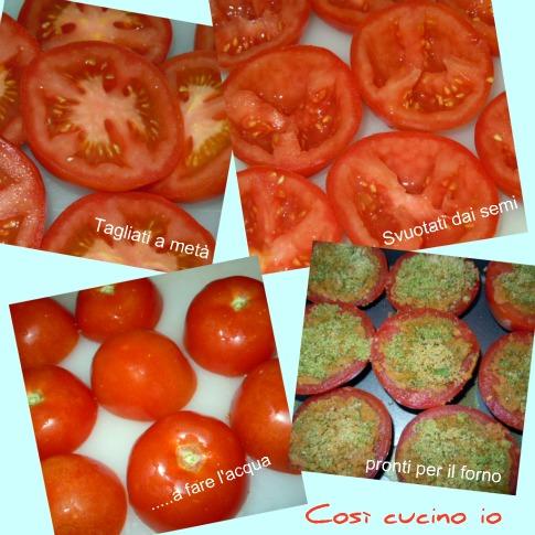 Pomodori gratin - Così cucino io