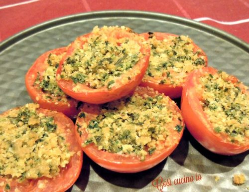 Pomodori gratin