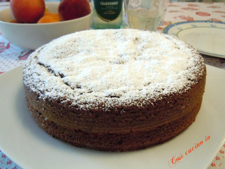Torta al cioccolato e marmellata di albicocche - Così cucino io