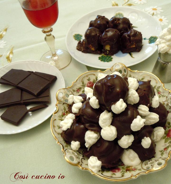 Profiteroles al cioccolato - Così cucino io
