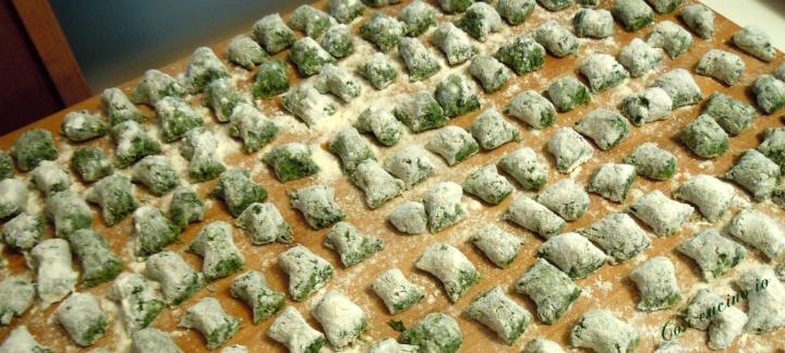 gnocchetti verdi - Così cucino io