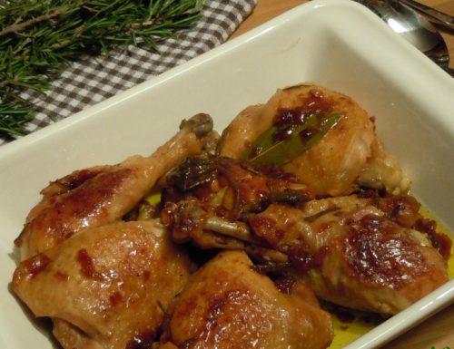 Pollo arrosto della nonna