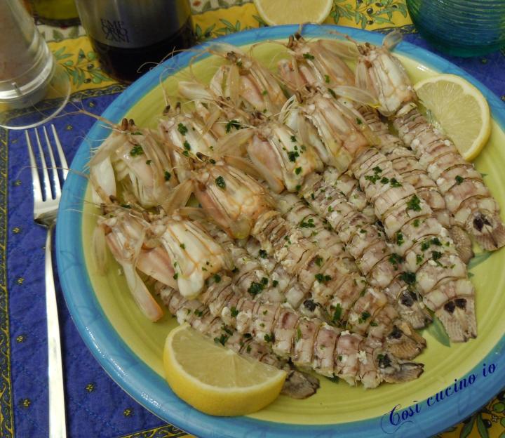 Canoce olio limone - Così cucino io