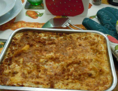 Il mio pasticcio di lasagne