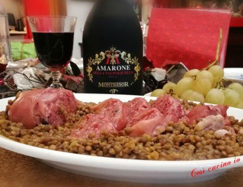 Zampone e lenticchie (ricetta tradizionale)
