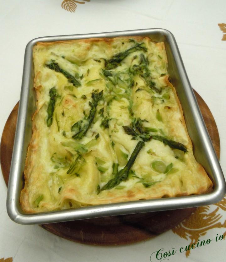 Lasagnetta agli asparagi - Così cucino io