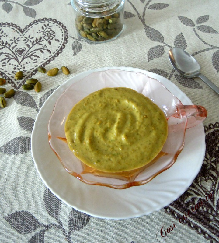Pesto di pistacchi - Così cucino io