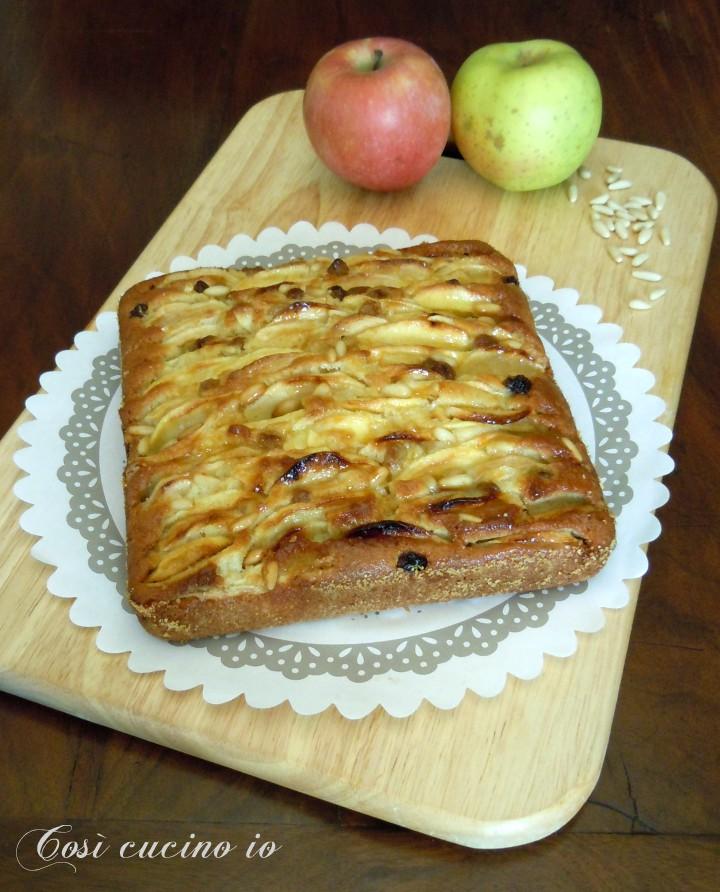Mattonella di mele - Così cucino io