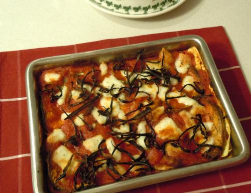 Lasagne di melanzane alla parmigiana