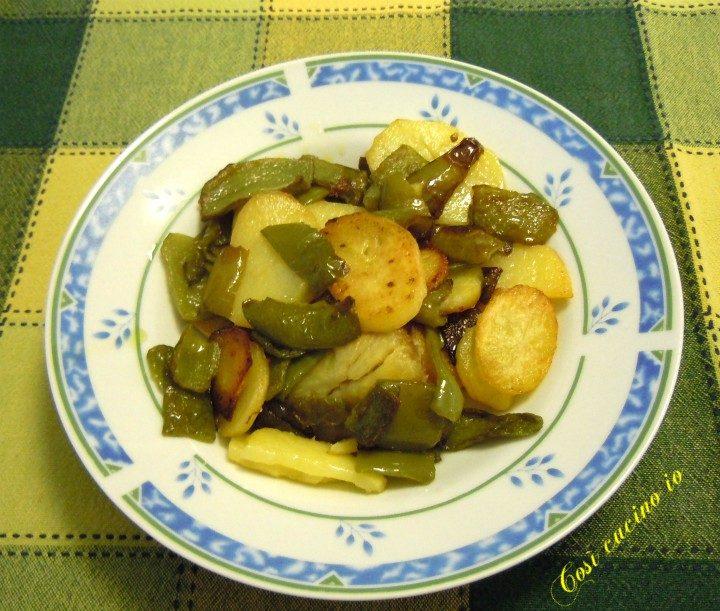 Peperoni e patate - Così cucino io