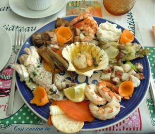Antipasto di pesce 10 gusti - Così cucino io