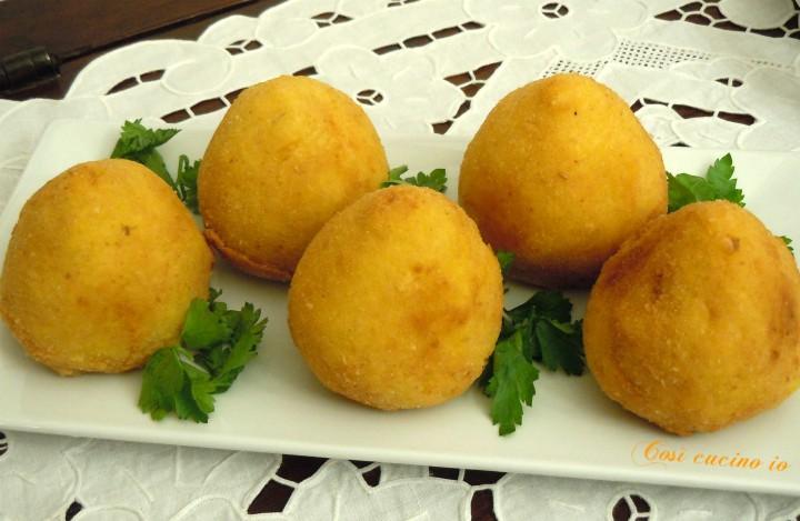 Arancini siciliani a modo mio - Così cucino io