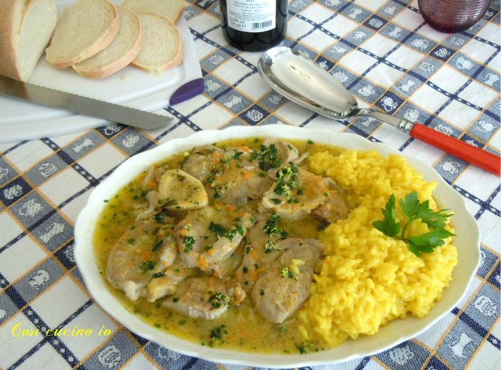 Ossobuco con salsa alla milanese - Così cucino io