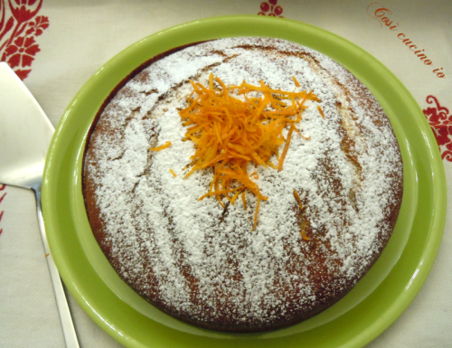 Torta di yogurt all'arancia