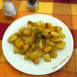 Padellata di patate e zucca al profumo di rosmarino - Così cucino io