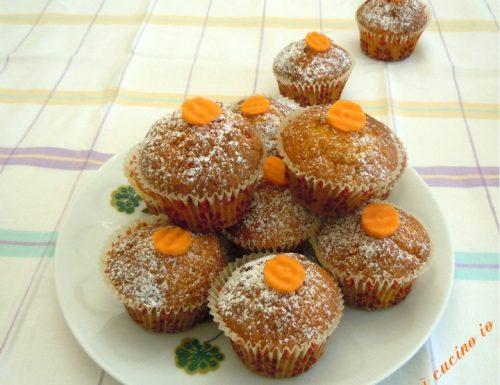 Muffin alle carote, dolce ma non troppo