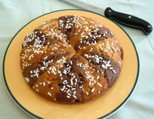Torta bicolore della nonna