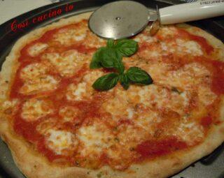 Pizza margherita classica - Così cucino io