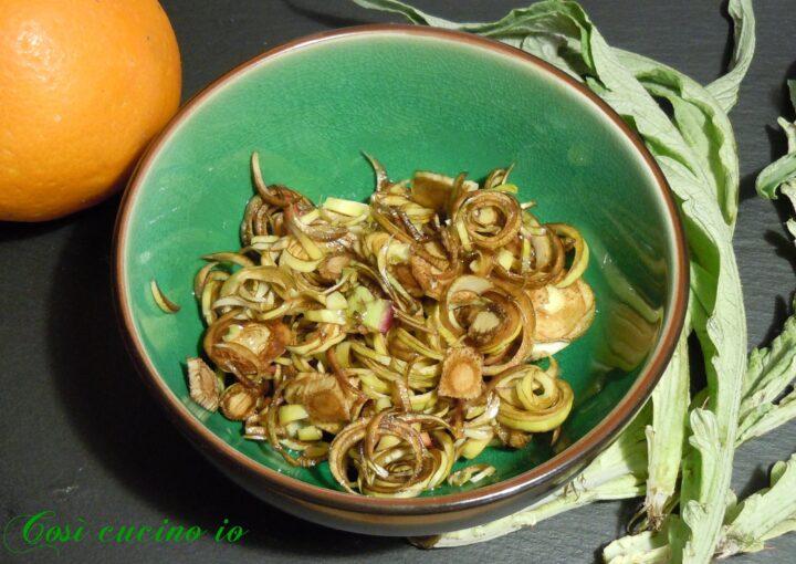 Castraure crude al profumo di arancio - Così cucino io