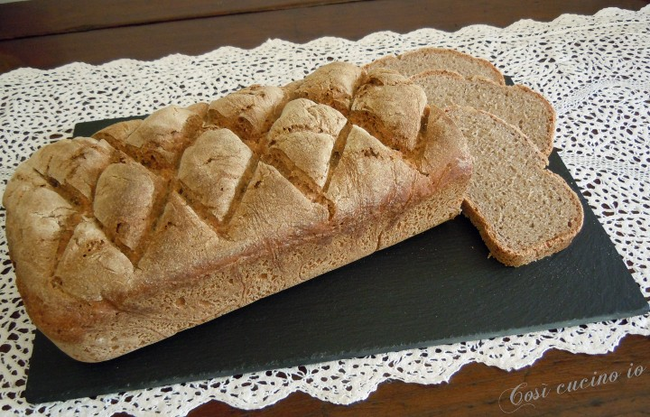 Pane di segale con lievito madre- Così cucino io