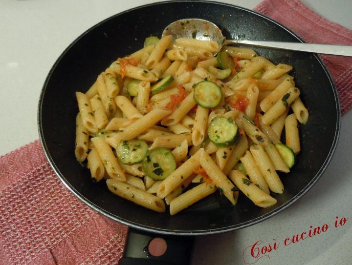 Penne datterino e zucchina - Così cucino io