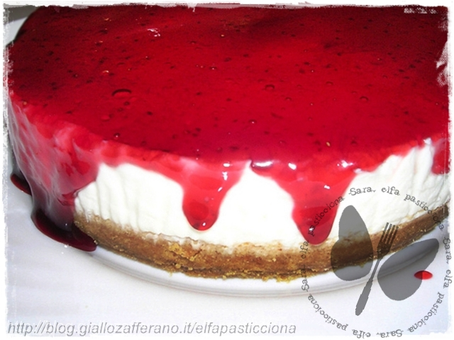 cheesecake fragoline di bosco
