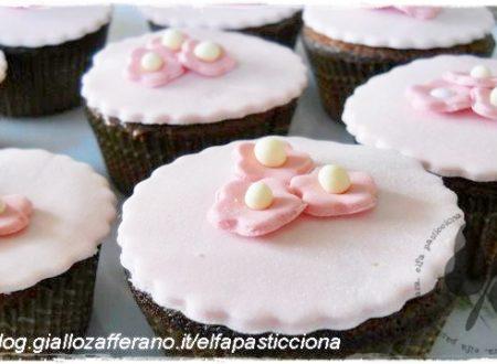 Cupcakes decorati con MMF