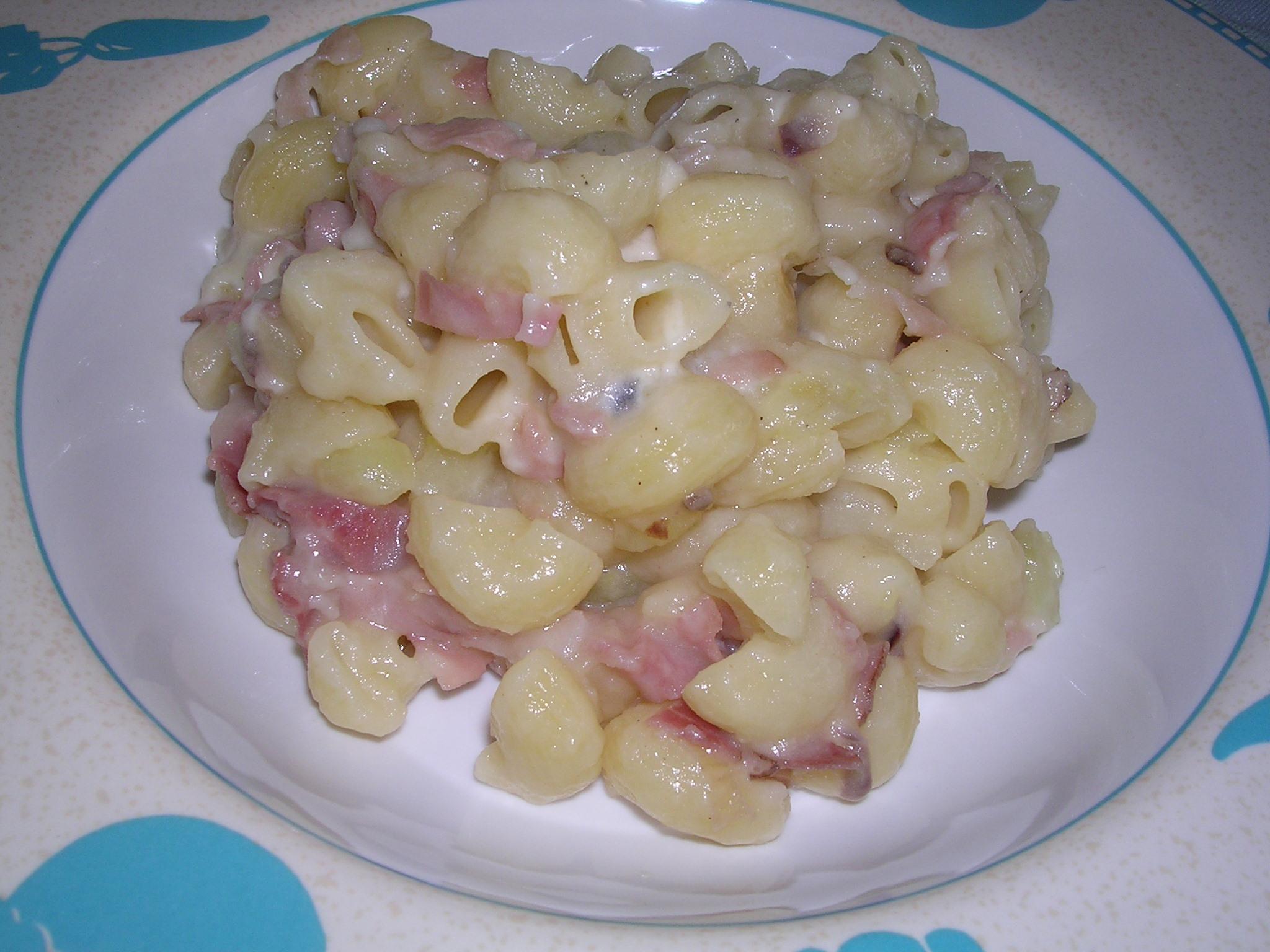 pasta speck e patate