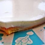 Cheesecake light alla vaniglia e fior d'arancio