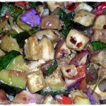 Contorno di verdure saltate nel wok