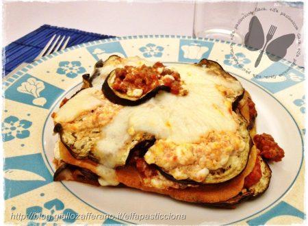 Lasagne con melanzane dukan, ricetta light
