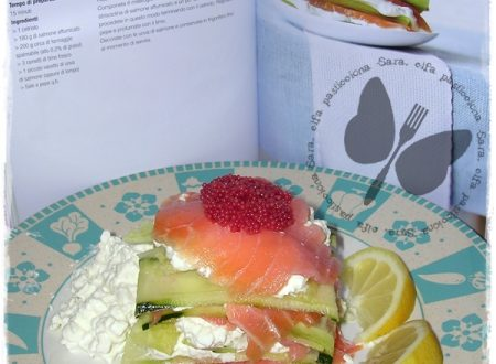 Millefoglie di cetrioli e salmone, ricetta Dukan