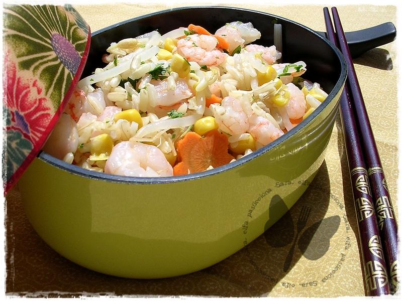 insalata di mais in stile orientale