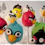 Cake pops alla nutella decorati Angry Birds